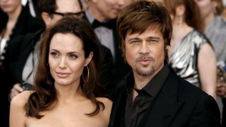 """През 2005 г. двамата се запознаха и влюбиха по време на снимките на """"Мистър и мисис Смит"""""""