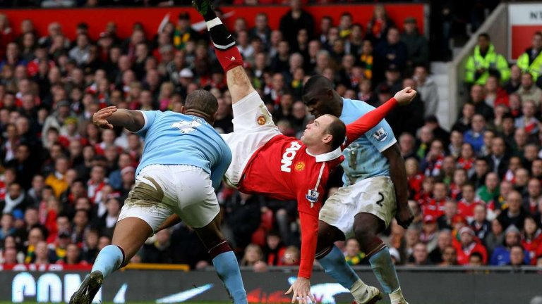 През онзи сезон Рууни вкара един от най-великите голове в историята на английския елит.