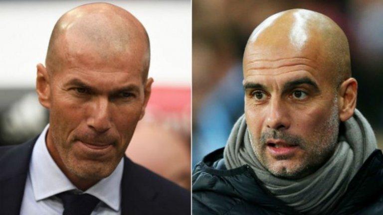 """Гуардиола вече не е начело на Барселона, но той носи кройфизма и философията на Барса със себе си навсякъде, където отиде. А завръщането му на """"Сантяго Бернабеу"""" тази седмица като мениджър на Манчестър Сити ще го изправи срещу Зидан, мистър Реал Мадрид."""
