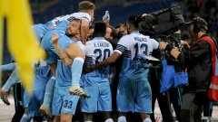 """Лацио се добра до равенство 1:1 в последните секунди. Вижте в галерията 6 извода след двубоя на """"орлите"""" с Милан."""
