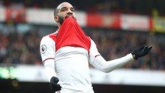 Лаказет приближи Арсенал до топ 5