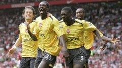 """10 години болка: Отборът на Арсенал, който за последно би на """"Олд Трафорд"""""""