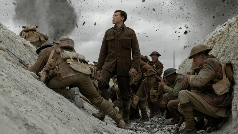 """Режисьорът Сам Мендес предизвиква себе си с новия си филм. """"1917"""" ще бъде заснет и монтиран, сякаш е една дълга продължителна сцена, и ще проследи в реално време пътуването на своите главни герои из бойните полета на Първата световна война."""