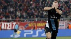 Оливие Жиру вкара три гола на Олимпиакос и изстреля Арсенал на осминафиналите в Шампионската лига
