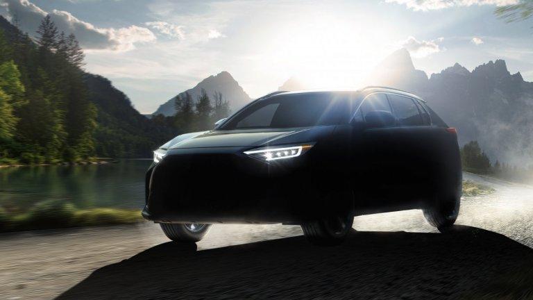 Subaru SolterraSubaru в никакъв случай не бива да бъдат отписвани от електрическата надпревара. Те вече показаха първите продуктови снимки на Solterra, който ще е горе-долу с размерите на Toyota Rav4. За представянето на електромобила на пътя не се знае нищо, освен че ще е със задвижване на четирите гуми едновременно.