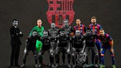 От последния велик отбор на Барселона останаха само четирима