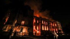 Целият 200-годишен архив на музея е унищожен