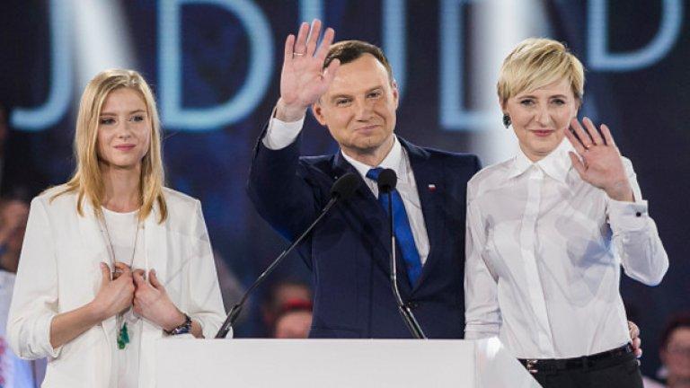 Новият полския президент се обяви за преразглеждане на отношенията с Германия