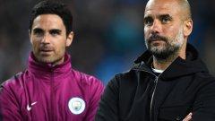 Артета скоро може да напусне щаба на Гуардиола заради възможността да води Арсенал