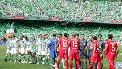 Бетис е домакин на Севиля в дербито на Андалусия.