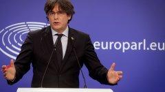 Арестуван е заради опита за отцепване на Каталуния