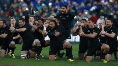 Страховитата хака на новозеландците е един от символните моменти в ръгби. All blacks са сред фаворитите за титлата и този път, като ще защитават титлата си от 2011-а.
