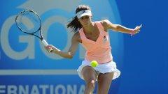 Цвети Пиронкова не успя да изравни постижението си на турнира в Палермо от 2005 г., когато игра полуфинал