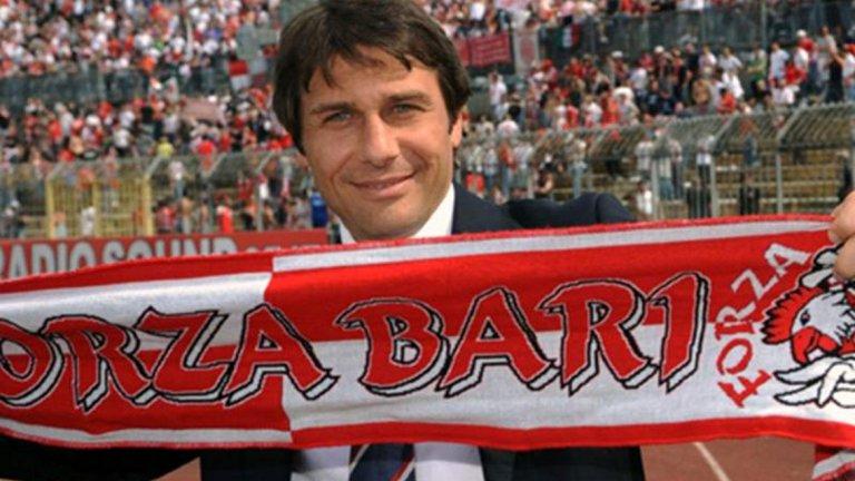 През декември 2007 г., Антонио Конте стана треньор на Бари. Защо...защо?!