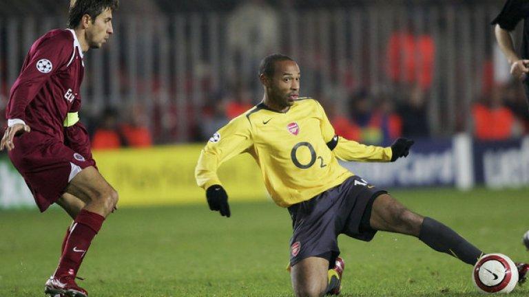 "Тиери Анри срещу Спарта Прага, групова фаза, 2005 г. That first goal was just effortless. Class ""@BestAFCGoals: Thierry Henry 2 goals vs Sparta Prague (05/06) pic.twitter.com/iuSsdnQ8q2""— Jetty• (@_KON3) July 28, 2016"