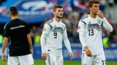 Бундестимът постави исторически антирекорд - за пръв път в историята си представителният тим на Германия допуска 6 загуби в рамките на една година.