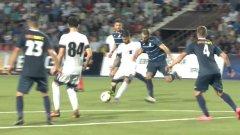 Карлос Фонсека изтормози защитата на Дунав през целия мач. Иртиш постигна минимален успех, но българите запазиха шансове в реванша