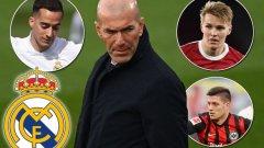 Чистката в Реал: Засега на изхода са шестима