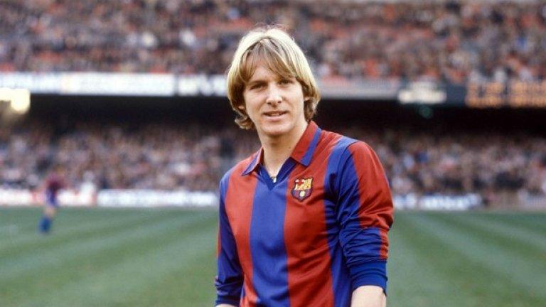 Бернд Шустер (Германия). 8 години (септември 1980 - юли 1988). 238 мача, 87 гола