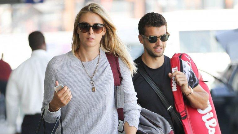 В продължение на две години и половина Григор Димитров и Мария Шарапова бяха звездната двойка на тениса