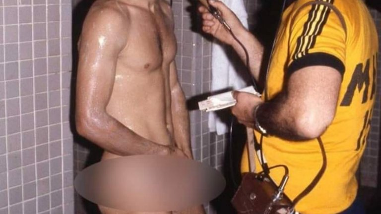 Интервю на голо – Зико дава отзив след победата на Бразилия с 2:1 над Аржентина на Копа Америка 1979. Бразилия стига до полуфиналите, където отпада от шампиона Парагвай.