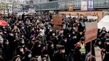 Демонстрациите са организирани срещу COVID мерките