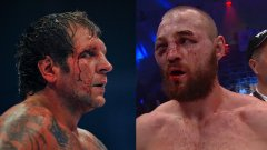 Глухов (вдясно) имаше няколко кървави битки със Саша Емеляненко.