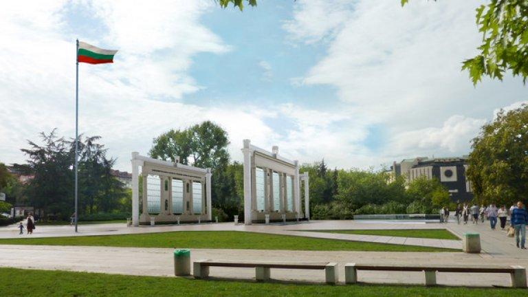 Така ще изглежда паметникът пред НДК