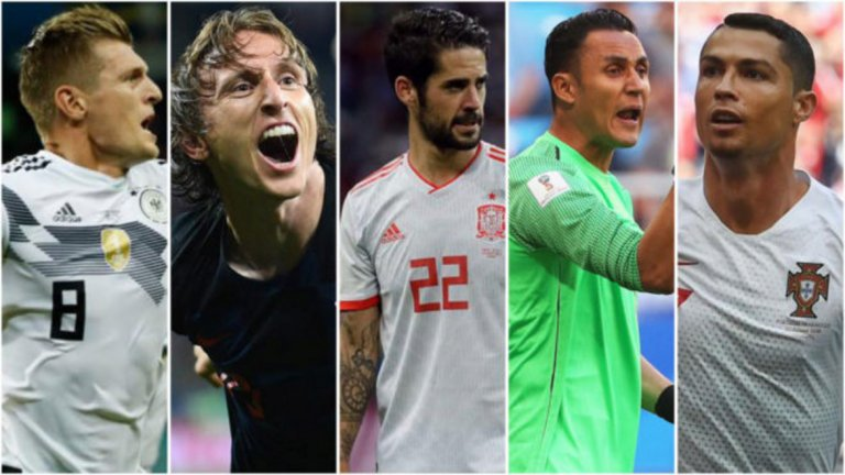 До момента изобщо не си личи колко тежък сезон имаха тези футболисти в клуба си. Те пристигнаха в Русия готови за подвизи