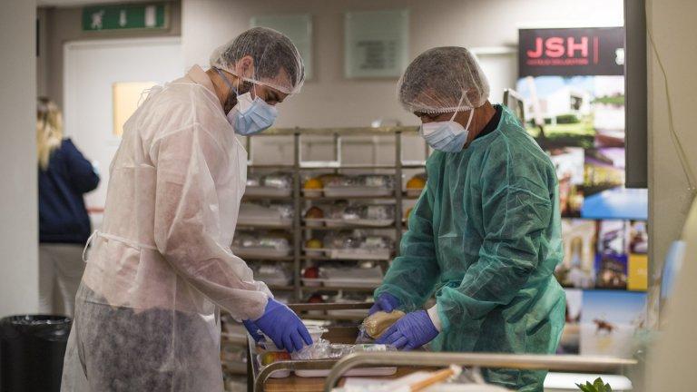 Според здравния министър Оливие Веран става въпрос предимно за временен персонал
