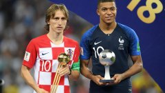 """Въпреки че Франция спечели световна титла, за играч на Мондиал 2018 бе избран Лука Модрич, а Килиан Мбапе остана негов подгласник. В края на годината хърватинът спечели и """"Златната топка""""."""