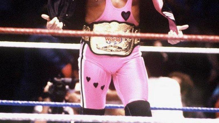 """Брет """"Хитмен"""" Хард бе канадски борец, и то доста добър, преди да влезе на ринга и да стане един от символите на кеча. Заедно с брат му Оуен Хард - част от шоуто, двамата бяха сред най-популярните типове на сцената на Wrestlemania."""