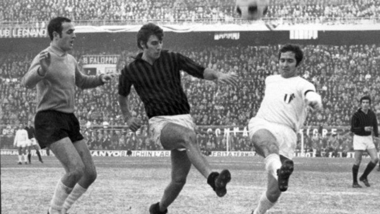 19. Пиерино Прати Прекарва 7 годин в клуба и печели 7 трофея. На финала за КЕШ през 1969-а бележи хеттрик във ватата на Аякс при успеха с 4:1.