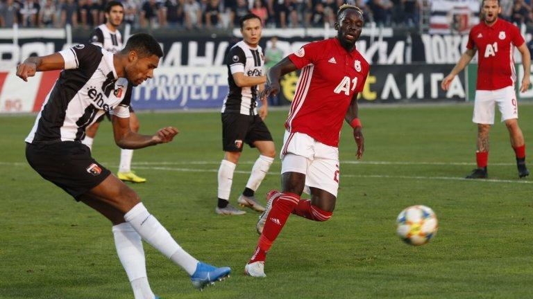 Али Соу изпусна най-чистите положения за ЦСКА