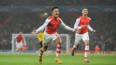 Санчес отбеляза втория гол за лондончани.