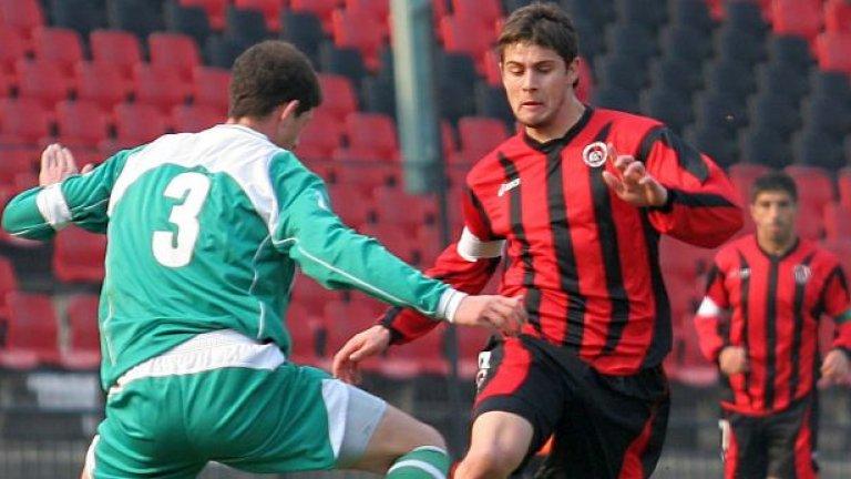 Цветан Генков се завърна от Динамо (Москва) и вече има 2 гола в 2 мача