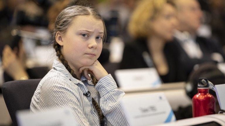 Джеръми Кларксън има какво да каже на младата екоактивистка...