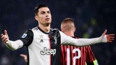 Роналдо бе сменен в два поредни мача в края на миналата година, което не му се хареса.