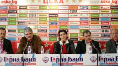 ЦСКА се сдоби с кръг от PR-и, но все още не е ясно дали се е сдобила с треньор