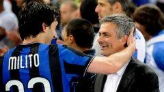 Диего Милито и Жозе Моуриньо може отново да се срещнат, но този път като съперници