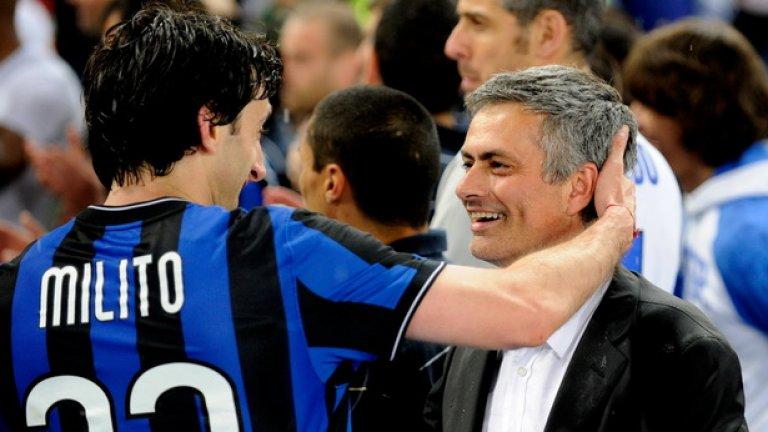 Двамата мъже с най-голям принос за шампионският требъл на Интер през 2010 година!