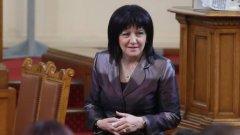 """Цвета Караянчева заяви, че ще прокара законопроекта """"по бърза писта"""""""