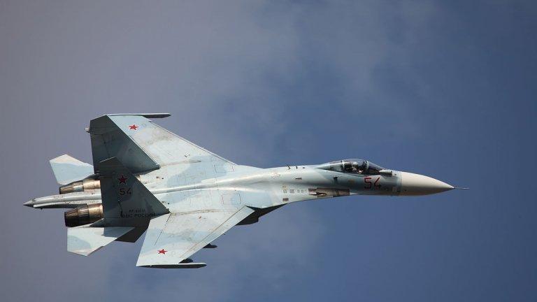 Радарите са засекли изтребителя, който от НАТО определят като руска провокация, над западната част на Черно море