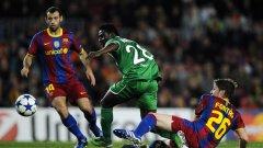 С играчи като Андреу Фонтас и Хавиер Масчерано Барселона може и да бъде пасивен на трансферния пазар
