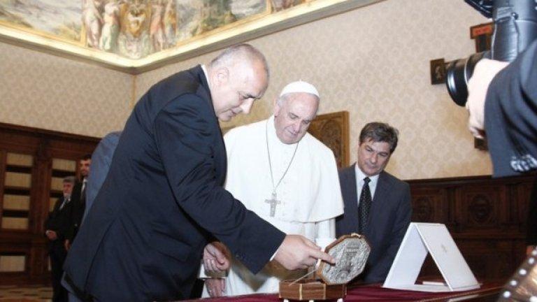 Аудиенцията на български държавници в Рим е традиционна и с нея се отбелязва ролята на България за съхраняване и развитие на делото на  Кирил и Методий, обявени от Светия престол за покровители на Европа