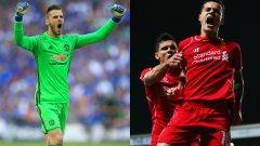 Как изглеждат комбинираните идеални 11 на Юнайтед и Ливърпул? Вижте в галерията...