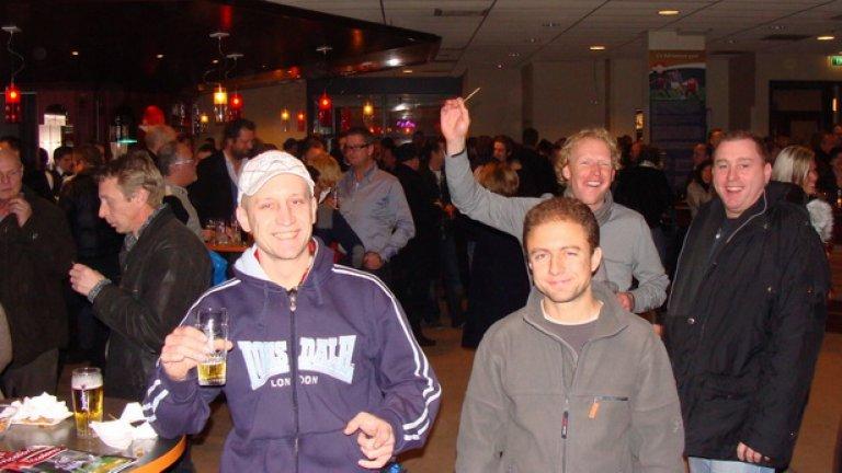 В Тилбург на коледното парти на Вилем ІІ миналата година след равенство 1:1 с Файенорд