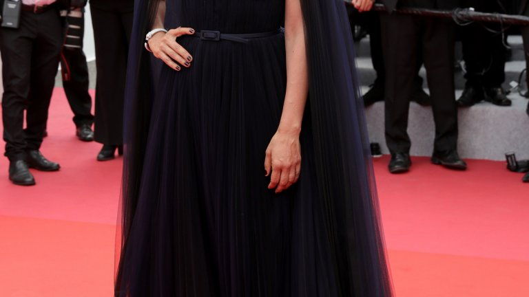 """Ливанската режисьорка Надин Лабаки, чийто филм """"Капернаум"""" обра овациите на журито в Кан през 2018 г., преди да се отправи към номинация за """"Оскар""""."""