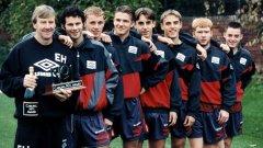 Всички момчетата на тази снимка направиха славни кариери във футбола. С изключение на един.