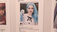 """През последната година Принс броди из чужди профили в социалната мрежа - избира снимки на модели, знаменитости или артисти, които на свой ред превръща в """"произведения на изкуството"""" с лека модификация за радост на щедрите арт-любители"""